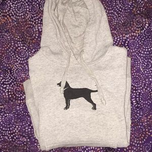 The Black Dog Hoodie size XS